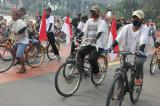 The pedalling protesters