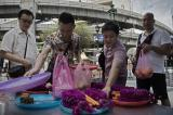 Bangkok bomb explosion at religious shrine
