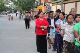 Image gallery of Myanmar's historic election.