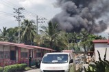 Fire destroys Manila church