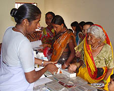 Free medical camps in central India help poor