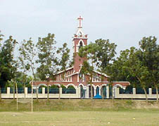 St. Joseph's Church at Solepur in Munshiganj district