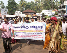 Farmers rally in Kozhikode seeking protection from wild boars