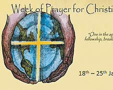 A poster on Octave of Prayer for Christian Unity 2011