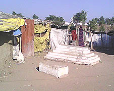 Encroachment on the Church burial ground in the outskirts of Bhopal