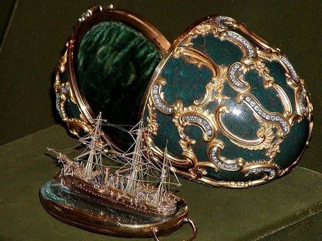 Faberge eggs to go on display at Vatican