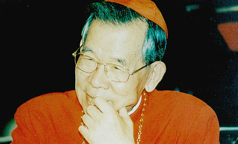 Cardinal Stephen Kim Sou-hwan (File photo)
