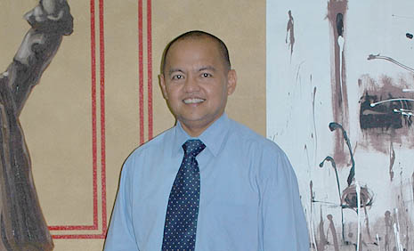 Government chief negotiator Marvic Leonen