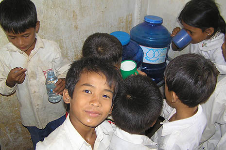 Rural families get safe drinking water