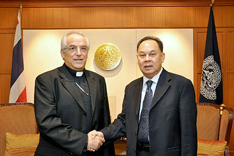 Nuncio agrees to progress cultural ties
