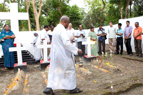 Archbishop blesses inter-faith cemetery