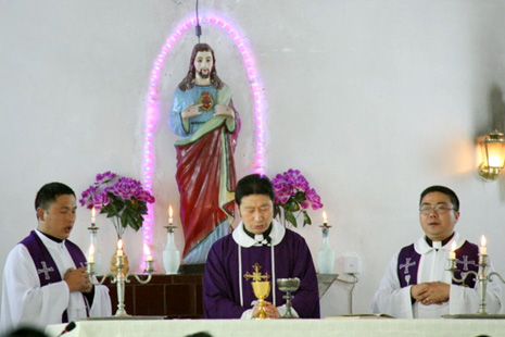 Leshan 'to ordain unapproved bishop'