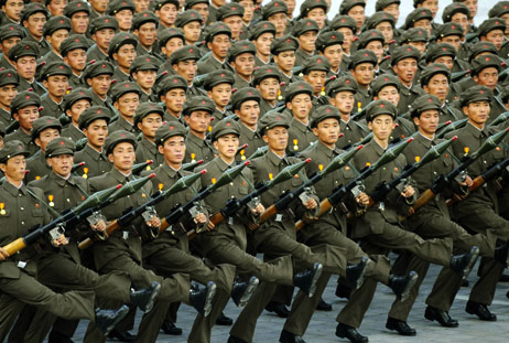 North Korea shoots five top men in purge