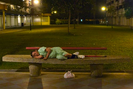In Singapore, even the poor people are better off