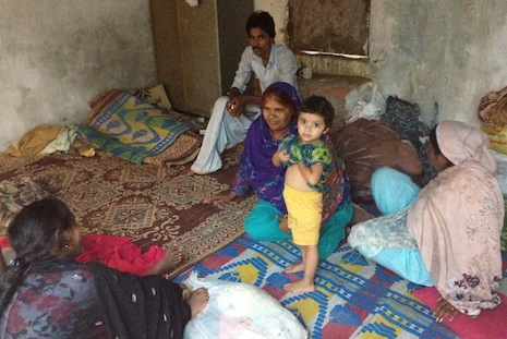 Christians who fled a slum in Islamabad after the arrest of a young girl on charges of blasphemy