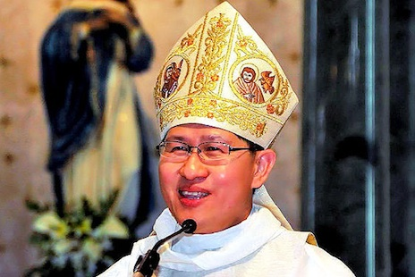 Archbishop Luis Antonio Tagle of Manila is one of the six new cardinals named in the surprise announcement (Picture courtesy Wikimedia Commons)