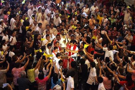 Half a million at Calungsod celebration