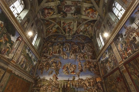 Happy 500th birthday to the magnificent Sistine Chapel