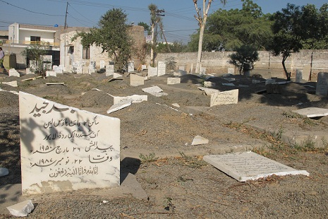 Attackers desecrate Ahmadi cemetery