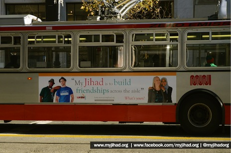 Ad campaign aims to clarify what 'jihad' really means