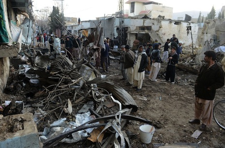 Bloody day for Pakistan as bombs kill 118