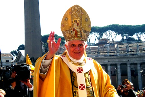 Pope Benedict XVI (file photo: Wikimedia Commons)