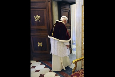 "Pope was ""deeply disheartened"" months before resigning"