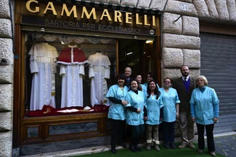 The tailor who has dressed every pope since 1922