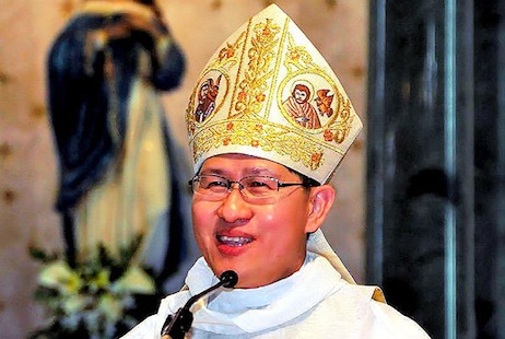 Cardinal Tagle is unstinting in his praise for the newly elected pope (picture: Wikimedia Commons)
