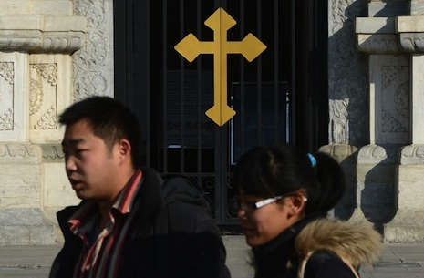 China says it hopes for 'flexible' pope