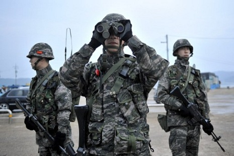 South Korean soldiers remain on alert along the DMZ (AFP/Jung Yeon-je)
