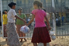 Myanmar president's new year message urges harmony