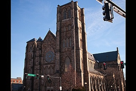 Holy Cross Cathedral, Boston: the movie is to be based on real events in this diocese