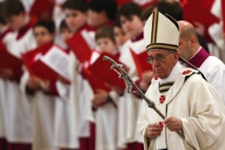 Practice what you preach, pope warns