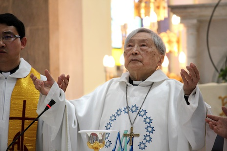 Bishop Jin of Shanghai dead at 96