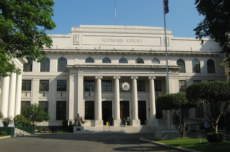 Philippines Supreme Court issues writ against US navy