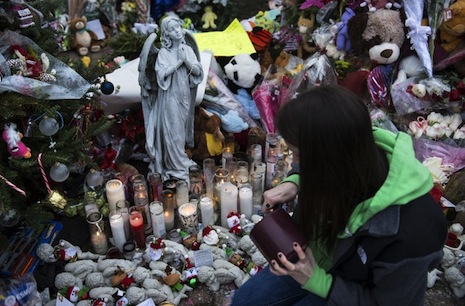 <p>Lats December's shooting at an elementary school in Newtown, Connecticut, sparked new concerns over attacks by lone gunmen (picture: AFP)</p>