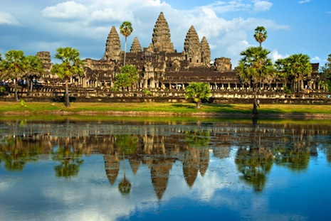 Found: a vast lost city in Cambodia