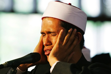 <p>A <em>bilal</em> calls the Muslim faithful to prayer (picture: <a href=&quot;http://www.shutterstock.com/cat.mhtml?lang=en&amp;search_source=search_form&amp;version=llv1&amp;anyorall=all&amp;safesearch=1&amp;searchterm=Ramadan+moon&amp;photos=on&amp;search_group=#id=7572076&amp;src=JjFdA21AMAE_rHnhj0BPRg-1-56&quot; target=&quot;_blank&quot;>Shutterstock</a>)</p>