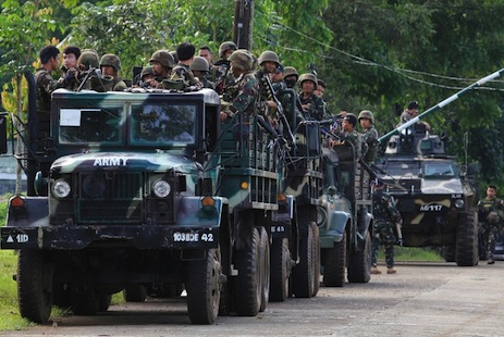 Philippine communist rebel base overrun