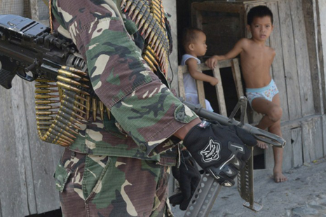 <p>Philippines army claims right abuses by troops have lessened (AFP / Jay Directo)</p>