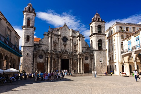 <p>The Cathedral of Havana (Kamira/Shutterstock)</p>