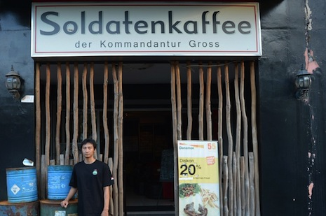 Nazi-themed cafe in Bandung to reopen