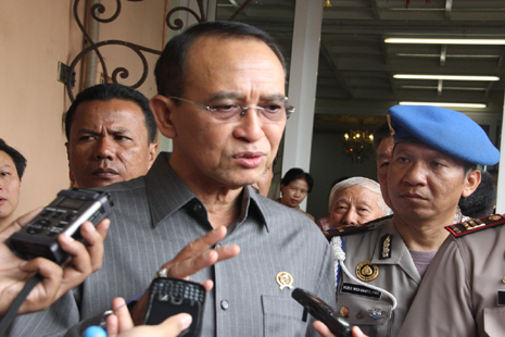 <p>Indonesia's Minister of Religious Affairs, Suryadharma Ali</p>