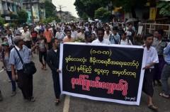 Myanmar marks 25th anniversary of pro-democracy uprising