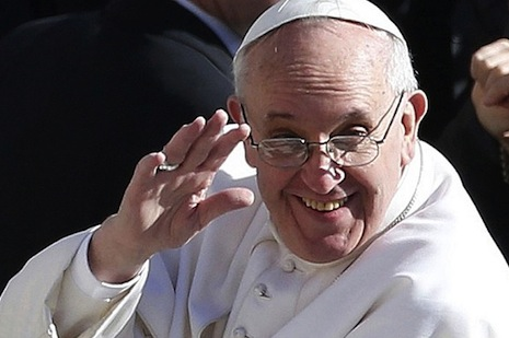 Pope Francis speaks bluntly on global economics