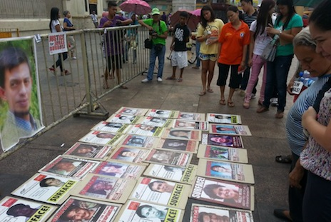 In search of the Philippines' desaparecidos