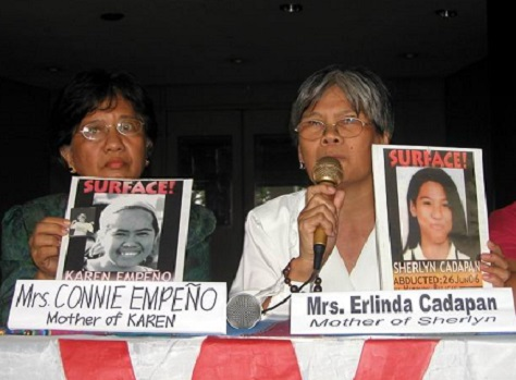 <p>The mothers of the missing students appeal for justice</p>
