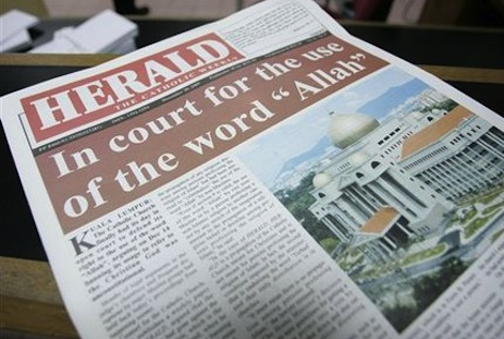 Wrangle over 'Allah' word goes back to court