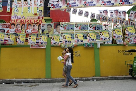 Young Philippine Catholics think Church gets too involved in politics